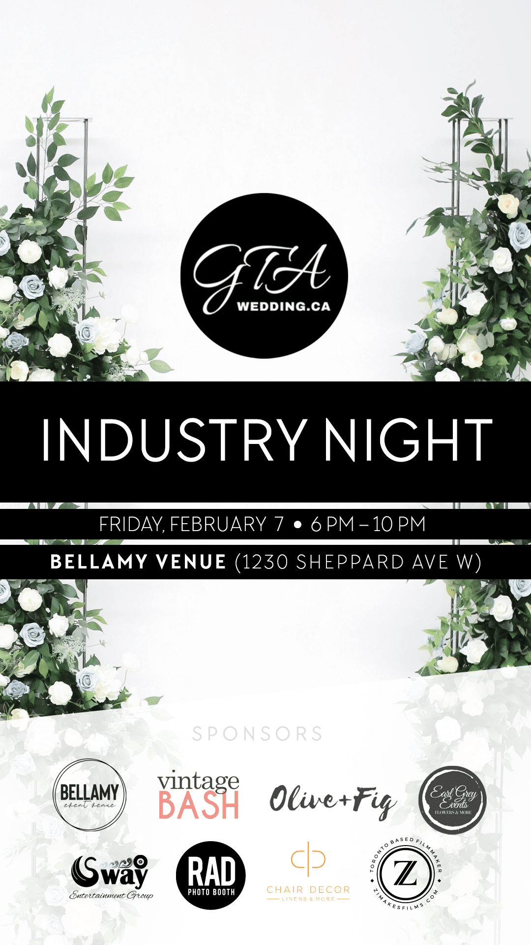 GTA Wedding Inc. Industry Night