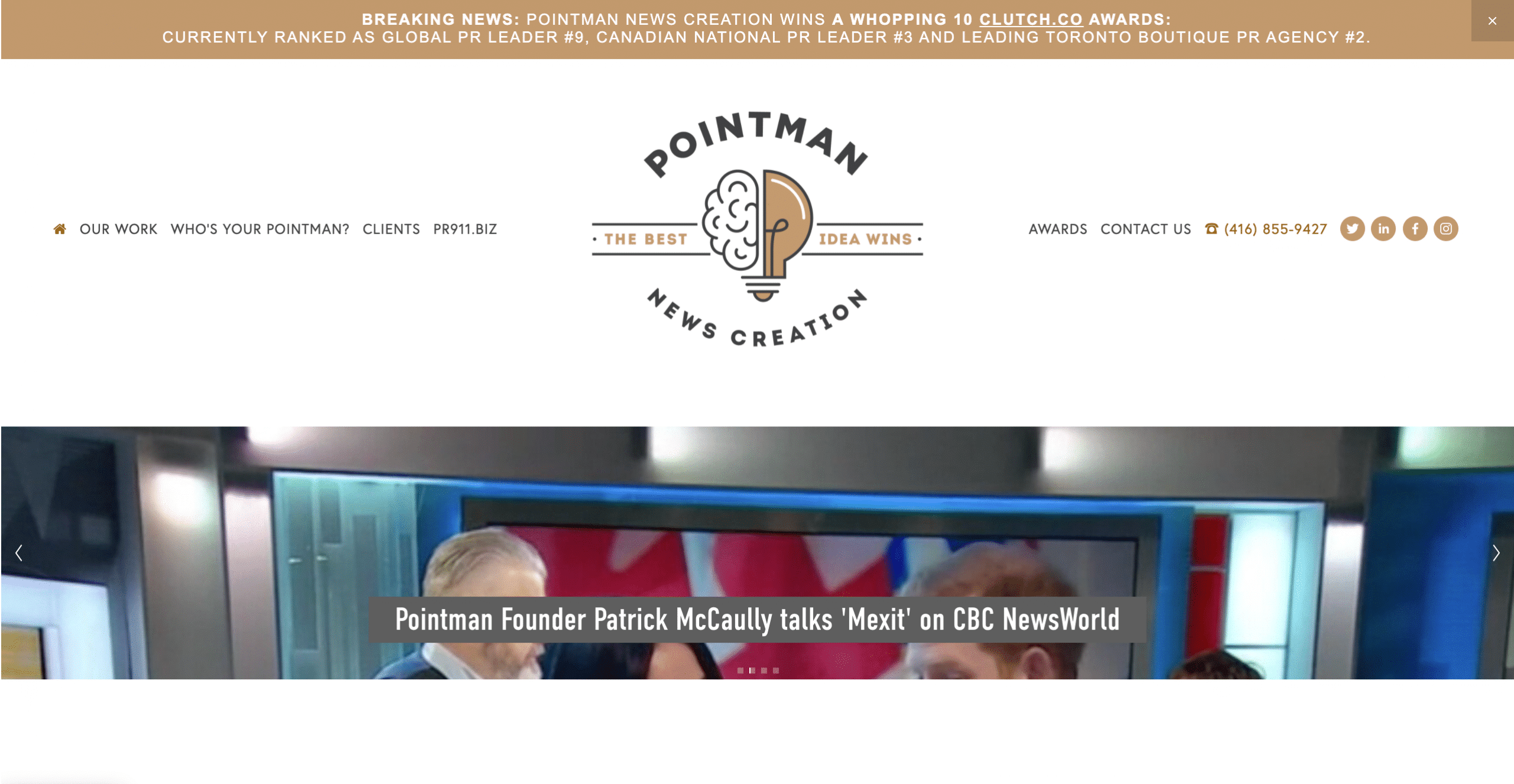 Pointman News Creation