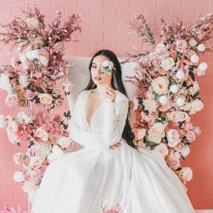 Blush Pink Floral Setup