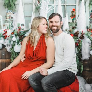 Christmas Holiday Mini Session Red & Green