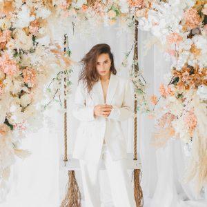Dreamy Floral Swing