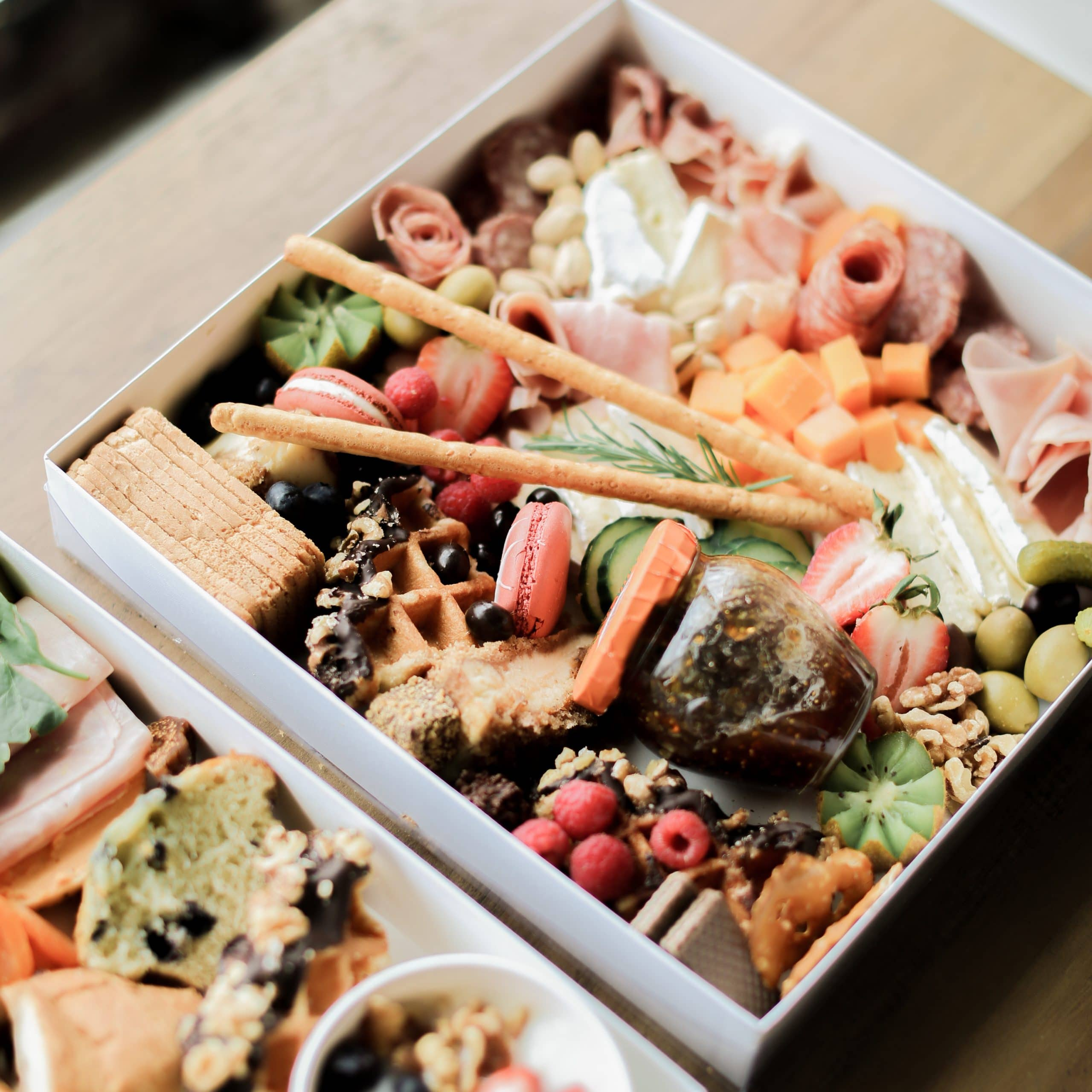 Gourmet Charcuterie Board Box Delivery