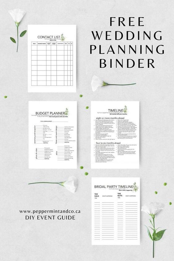 Micro Wedding Planning Checklists
