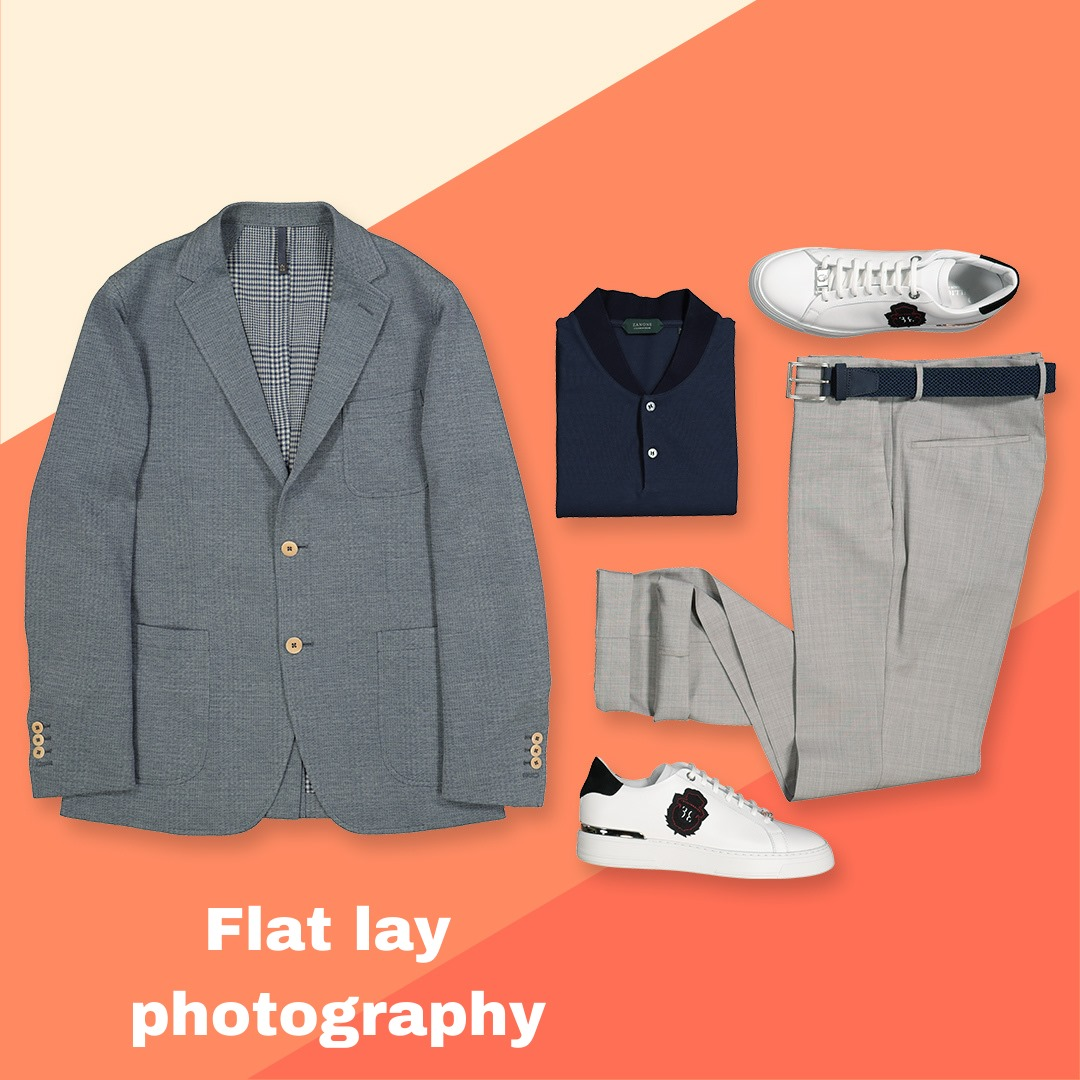 product flat lay photography